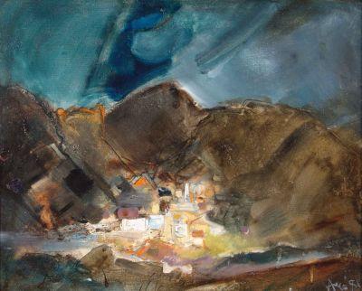 Васил Бояджиев - Светлината на Града - Художествена галерия - Смолян