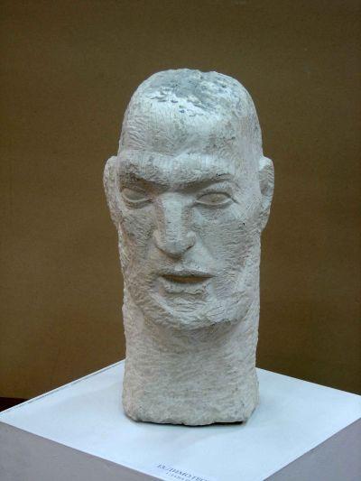 Георгиев Димо - Глава на мъж - Художествена галерия - Смолян