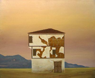 Евстатис Петропулос - Къща в Родопите - Художествена галерия - Смолян