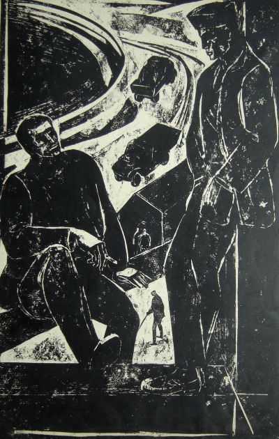 Абдулрахманов Махмуд  - На обяд - Художествена галерия - Смолян