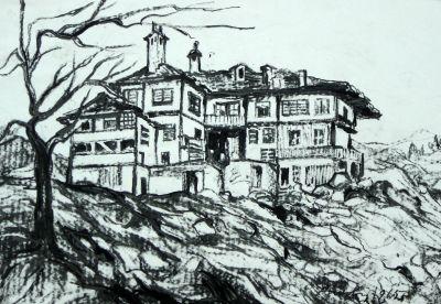 Аронова Сузи - Къща в Смолян - Художествена галерия - Смолян