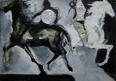 Балджиев Атанас - Човек и кон - Художествена галерия - Смолян