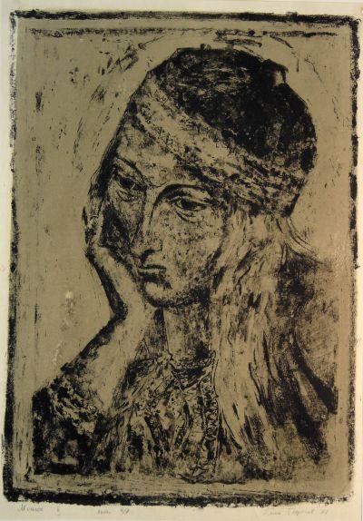 Георгиев Емил - Момиче II - Художествена галерия - Смолян