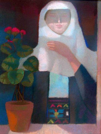 Александър Петров - Жена на прозореца - Художествена галерия - Смолян