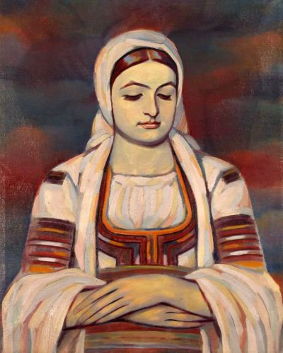 Владимир Димитров - Майстора  - Жена от Кюстендилско - Художествена галерия - Смолян