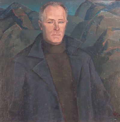 Иван Кирков - Портрет на Николай Хайтов - Художествена галерия - Смолян