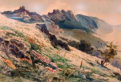 Йордан Гешев - Пейзаж - Художествена галерия - Смолян