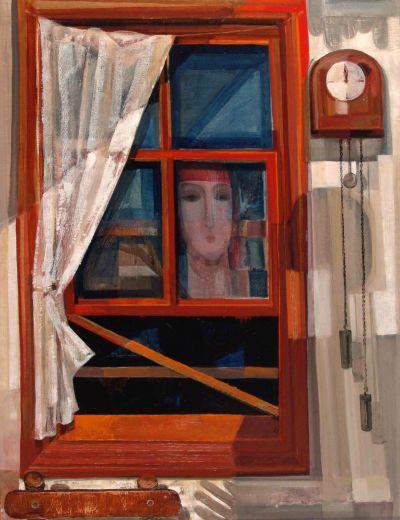 Любомир Самърджиев - Нощен прозорец - Художествена галерия - Смолян