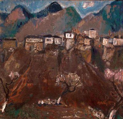 Найден Петков - Родопски Пейзаж - Художествена галерия - Смолян