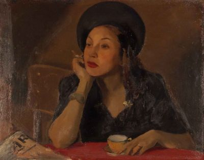 Ненко Балкански  Портрет на Лиляна - Художествена галерия - Смолян