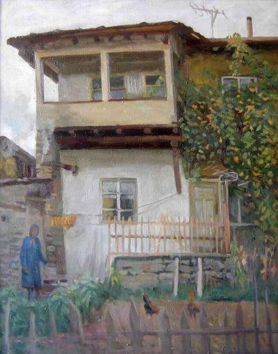 Александър Клюев - Стара къща - Художествена галерия - Смолян