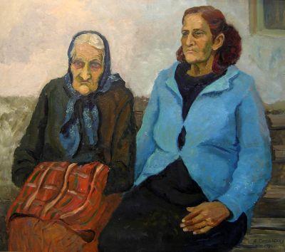 Алексей Соколенко - Майка и Дъщеря - Художествена галерия - Смолян