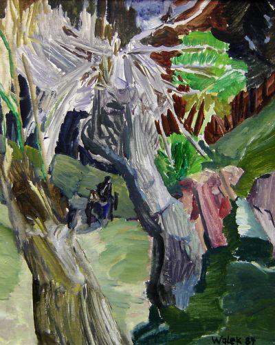 Валек Нойман - В гората край Смолян - Художествена галерия - Смолян