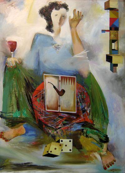 Джемал Гвимрадзе - Наташа - Художествена галерия - Смолян