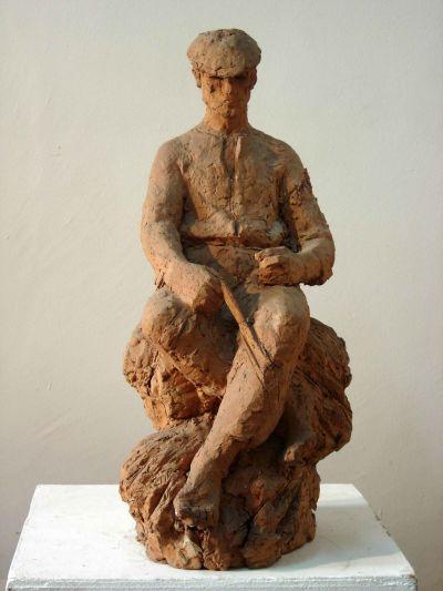Анков Вергил - Фигура на каруцар - Художествена галерия - Смолян
