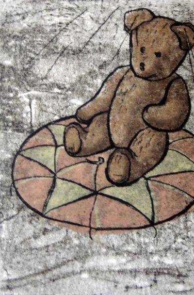 Главчев Димитър  - Кукленият мечо - Художествена галерия - Смолян